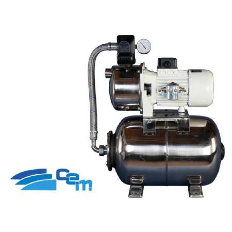 Sistema de presión de agua dulce CEM 24v 50lt/m
