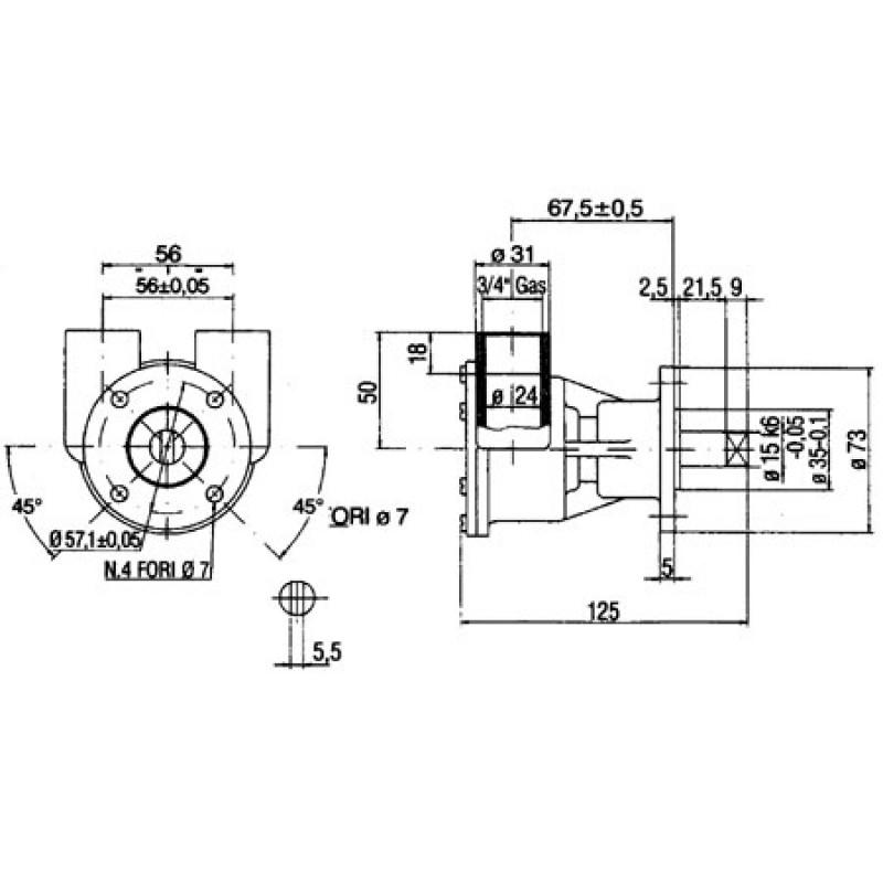 Ancor Original Pump St143