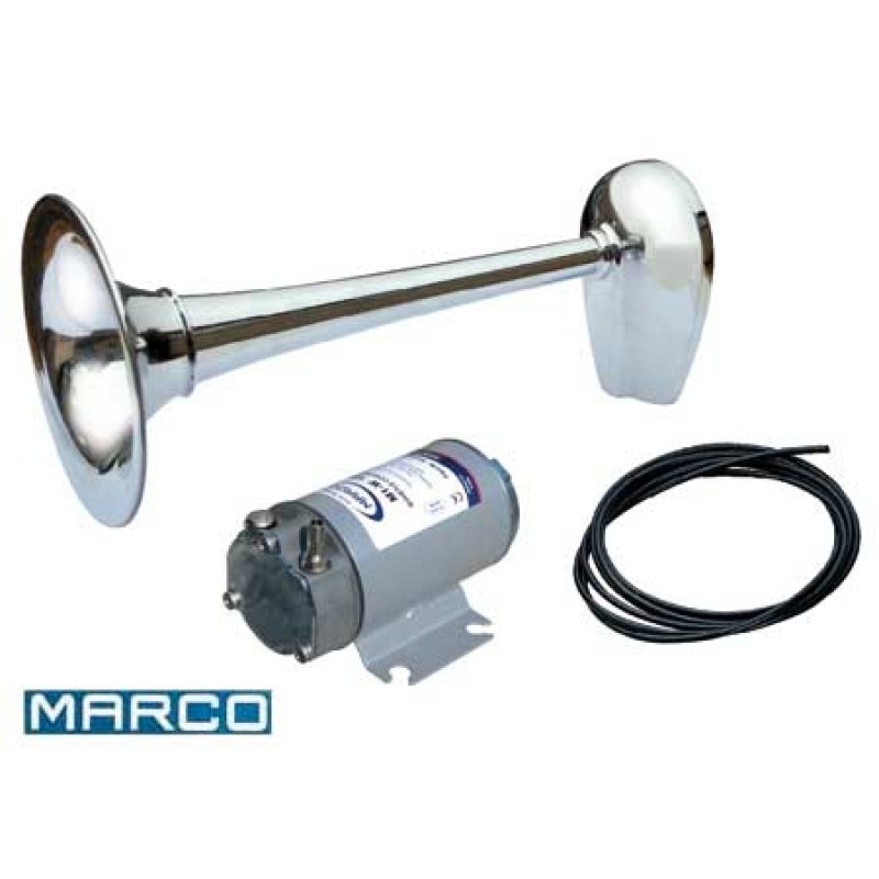 Bocina Marina MARCO BIG CHROME L449 24V