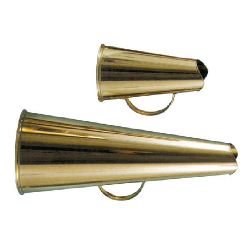 Megafono Clasico de laton 20cm