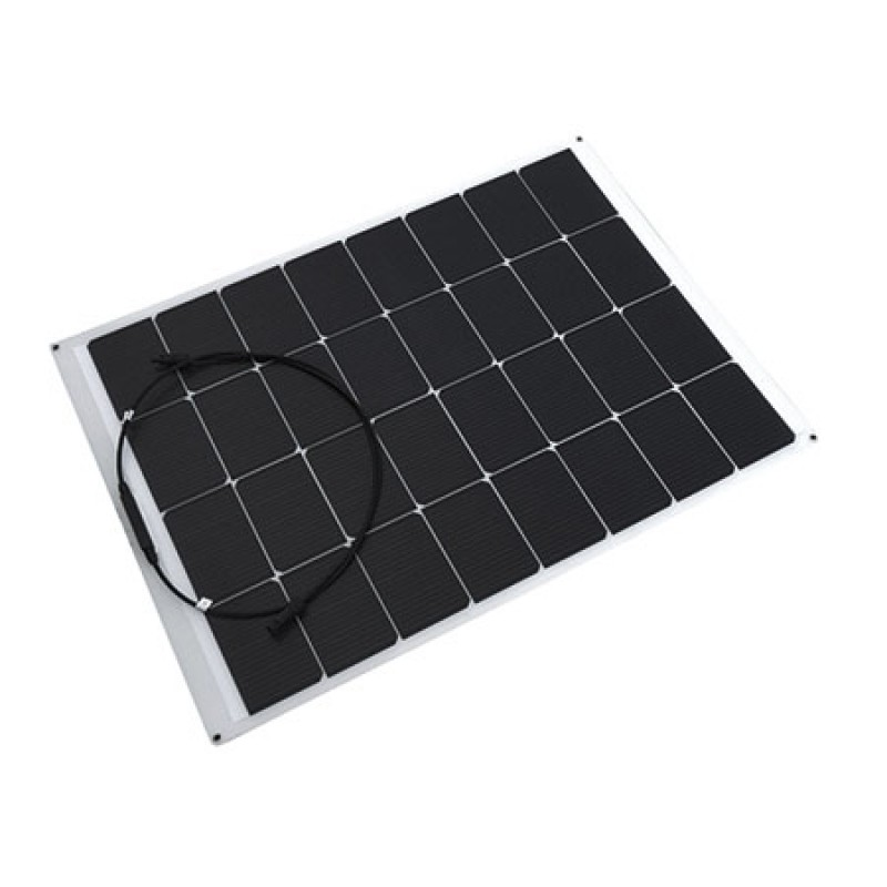 Flexible solar panels 50w 12-24v 520 x 670mm