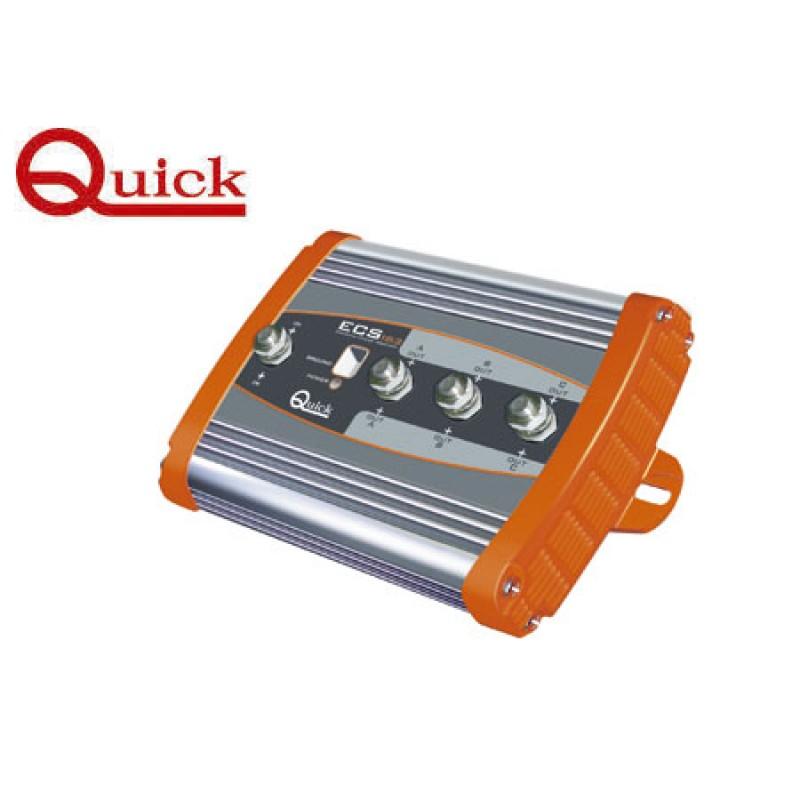 Separador de Carga Quick 2 Baterias 12-24v