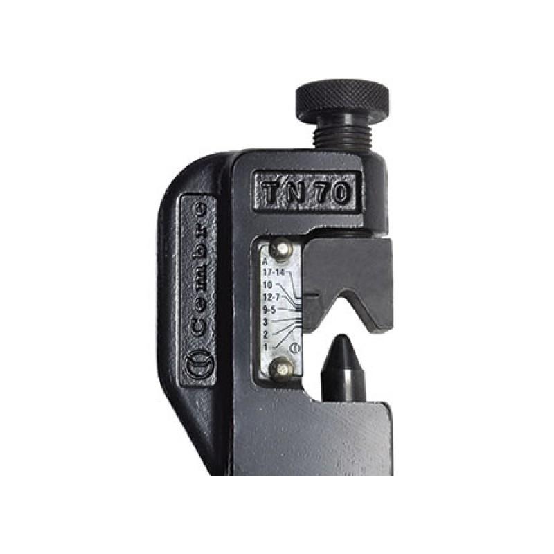 6 Presione la abrazadera terminales Batt / 70mm 2