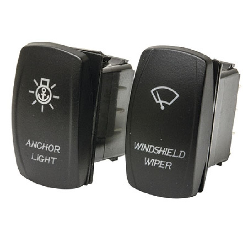 Interruptor IP68 de ancla (On)-off-(On) 12V /24V - 20A / 10A