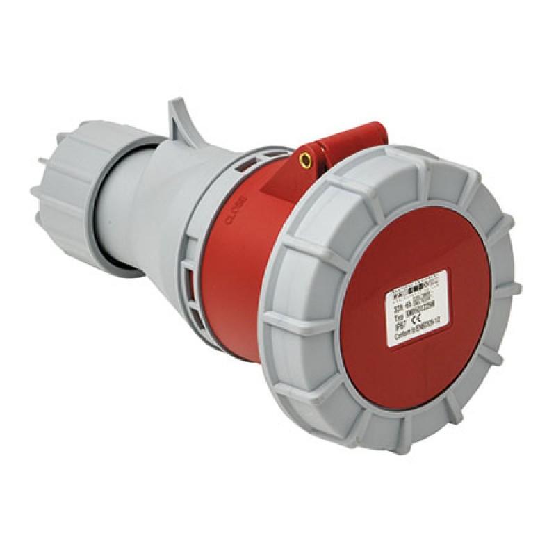 Conector Electrico Pantalan CE Ip67 380v 63a