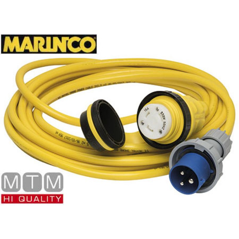 Cable de alimentación Marinco 10mt 32amp