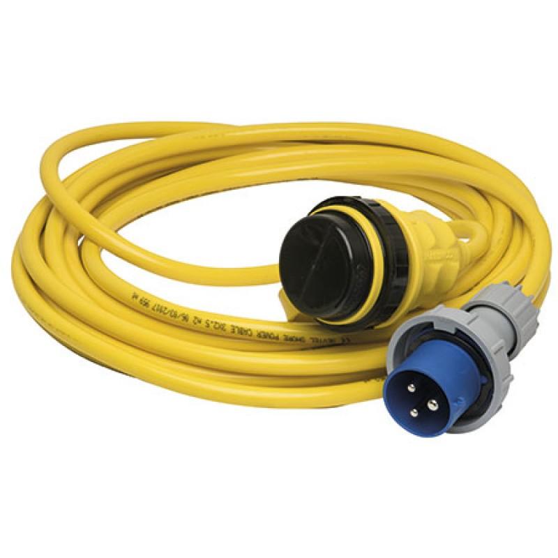 Cable de alimentación Marinco 10mt 16amp