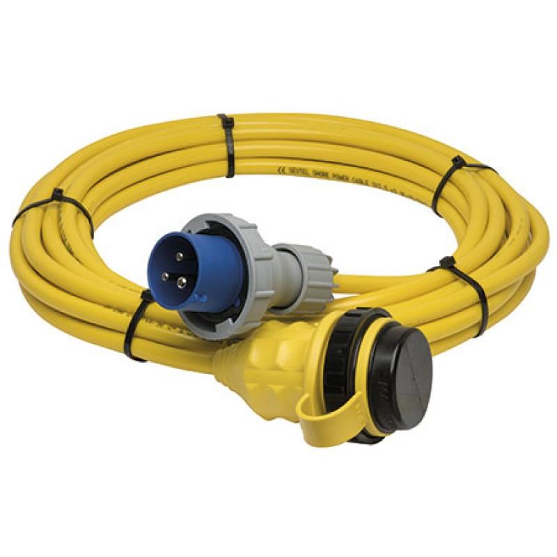 Cable de alimentación Marinco 15mt 32amp