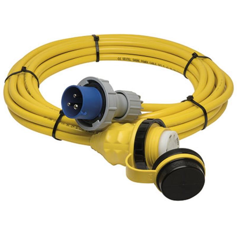 Cable de alimentación Marinco 20mt 32amp