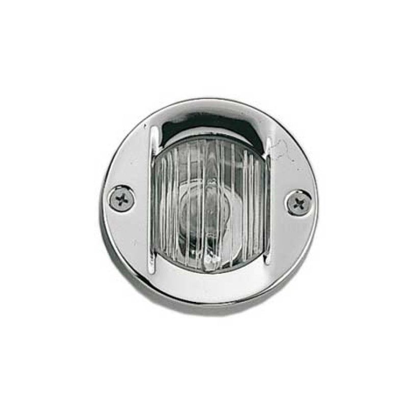 White round stern Led in stainless steel