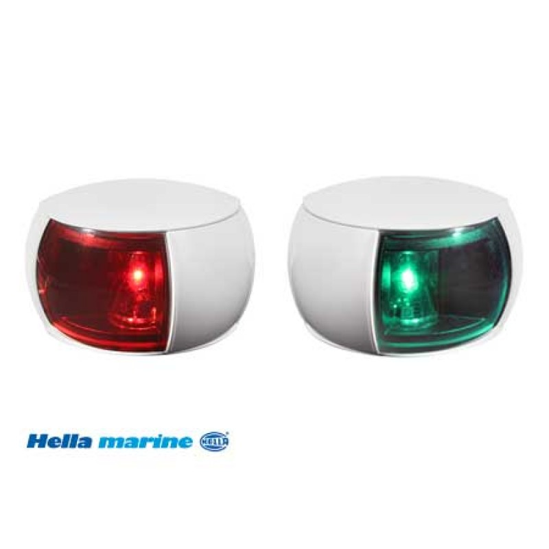 Headlights Hella Led 0520 red Wh