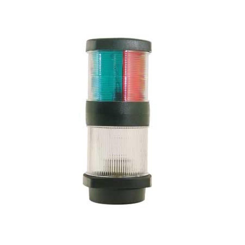 Luz de Navegacion Led Tricolor Combinada