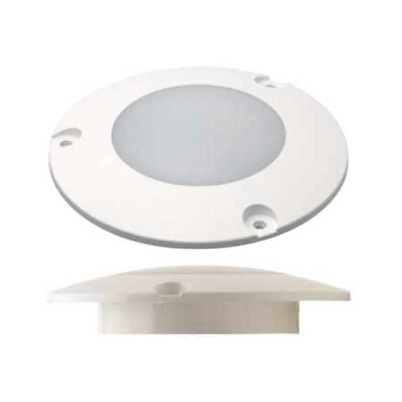 Luz Led Blanca para Exteriores 12v 107mm