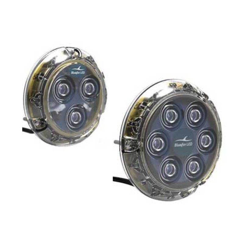 Luz led sumergible Bluefin P12 White 12/24v
