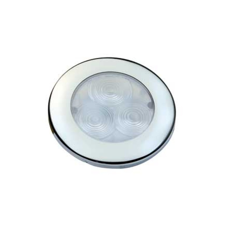 Luz Led Empotrable Inox D71mm