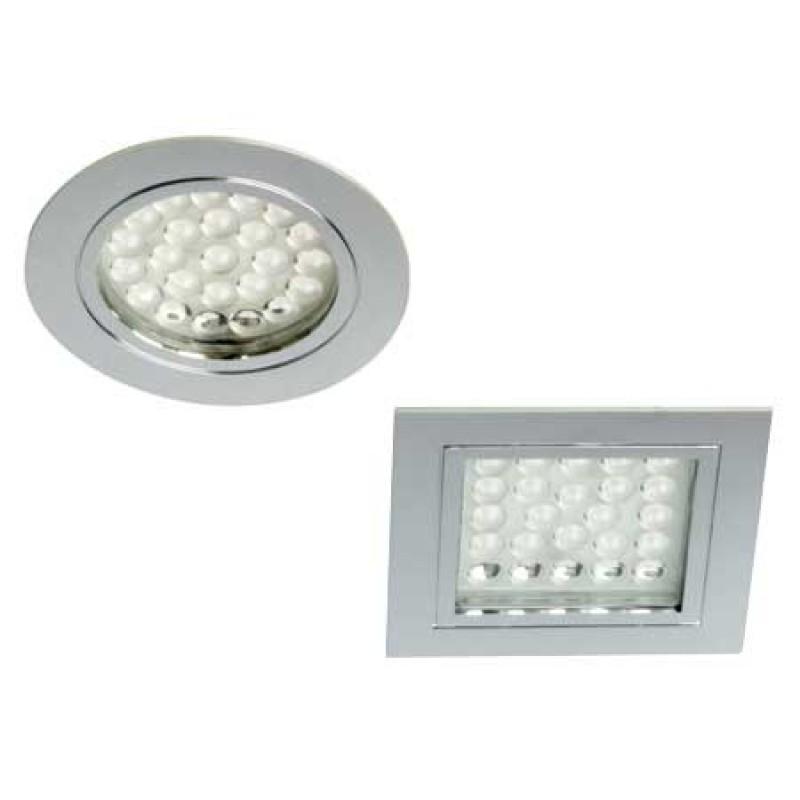 Lámpara de techo de Led Chrome57 1,7 w 12v Plaza