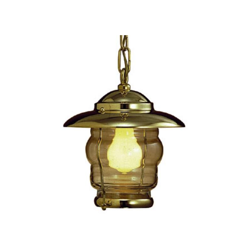 Lámpara de techo en latón Prisma 230 x 210mm 220v