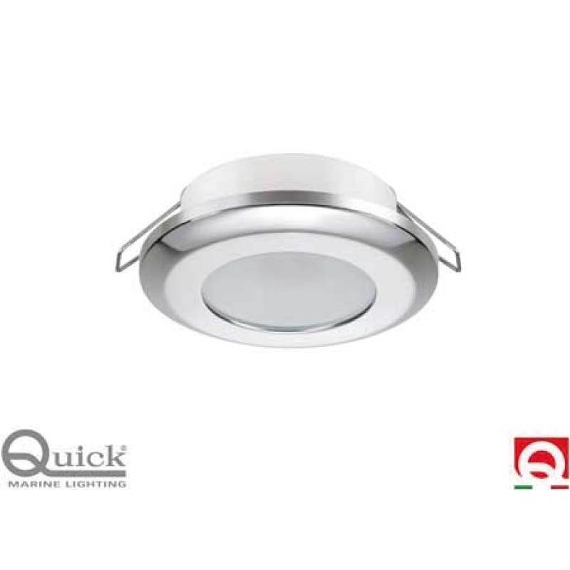 Quick LED ceiling lamp MIRIAM SATINATO