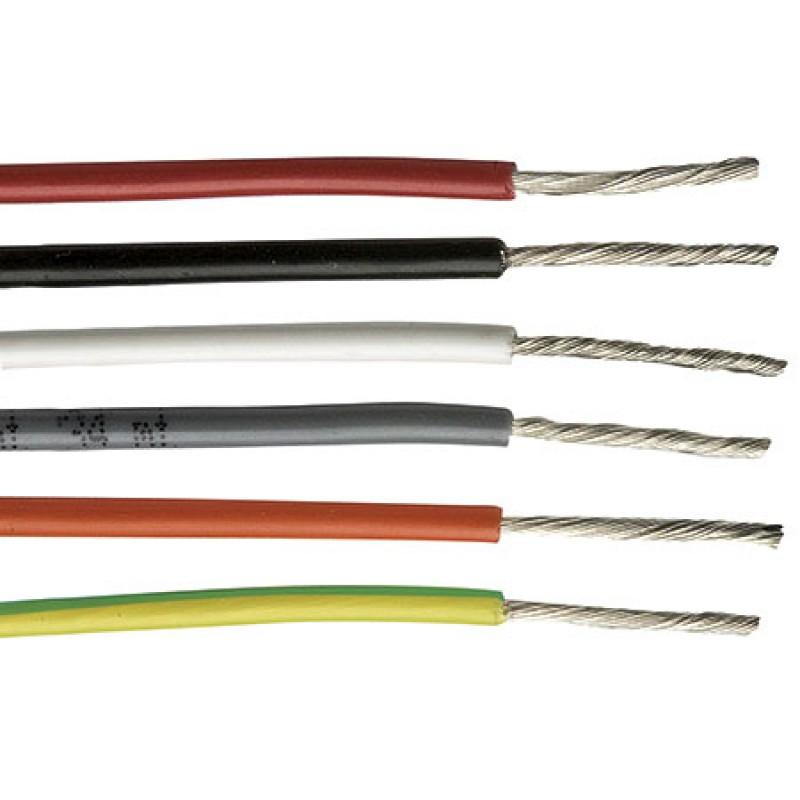 Cable Electrico Marino 1 x 6 - 4.7mm amarillo/verde