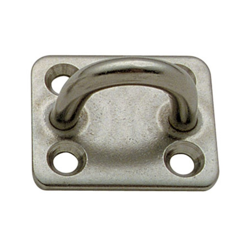 Placa Inox con Puente 8 x 50mm