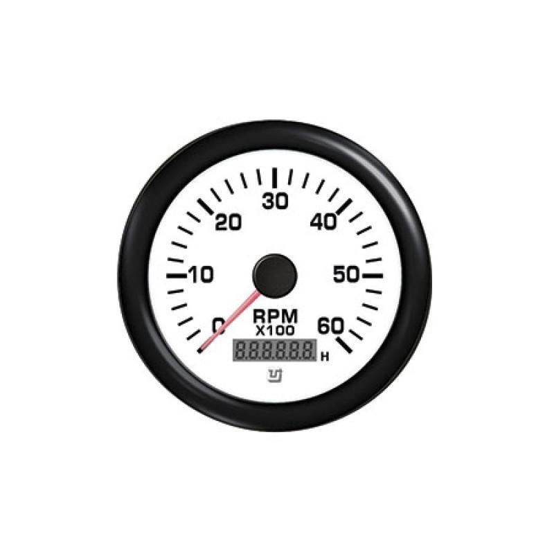 Tachometer/Hourmeter Uflex Ultra white 7000rpm