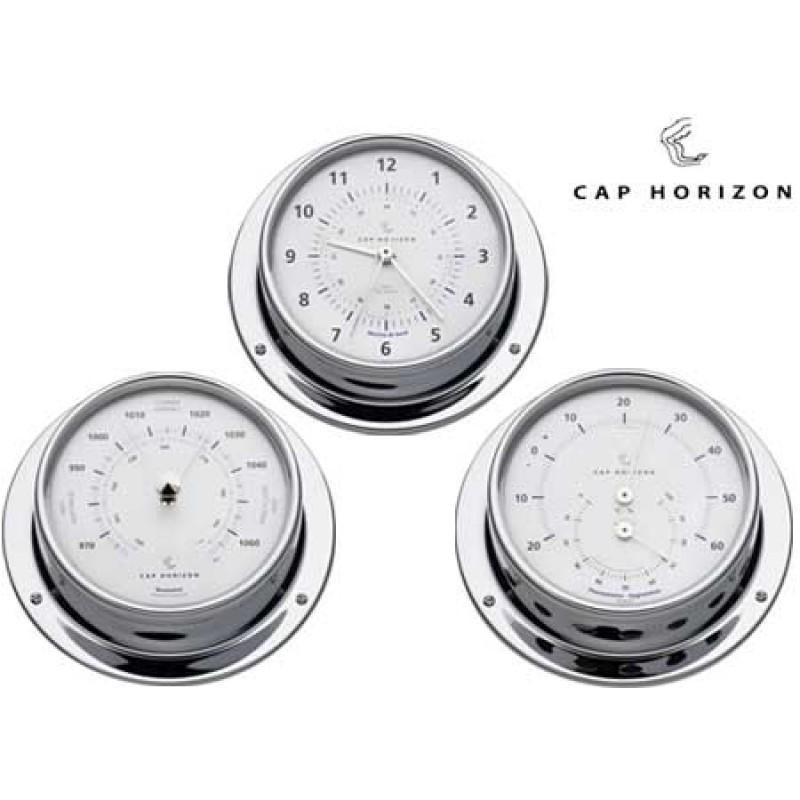 Barómetro cromado Latón 88mm Cap Horizon (por barigo)