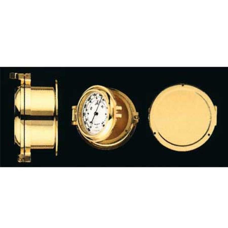 Termometro e Higrometro Luxe Laton 120mm