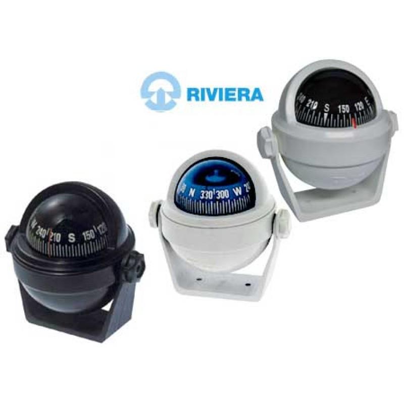 Compas Náutico Riviera Stella BS2 - 65mm Todo Negro