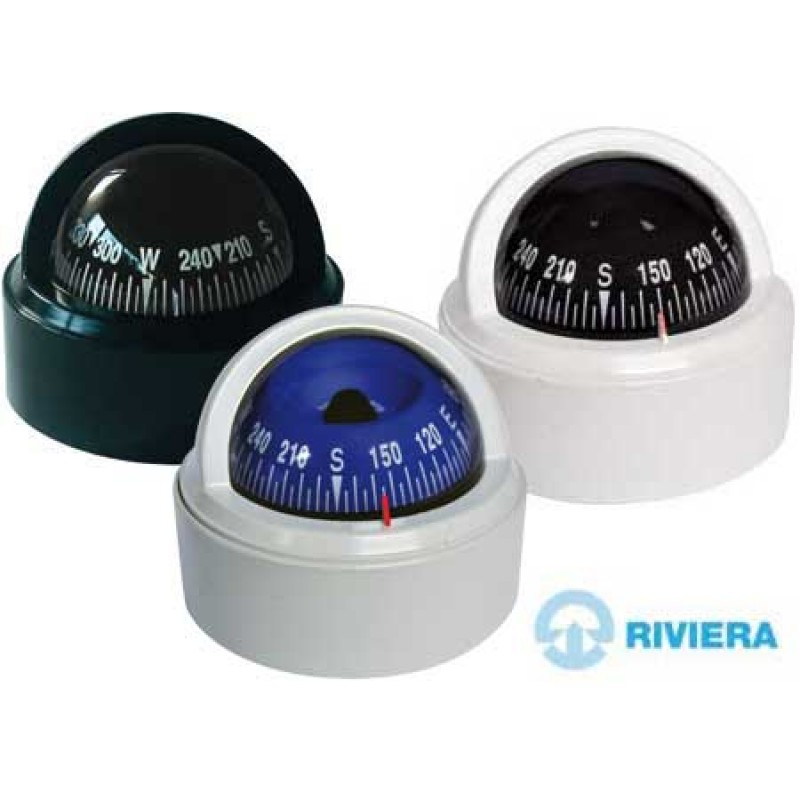 "Navigation Compass ""Riviera Stella BS1"" 65mm Black"