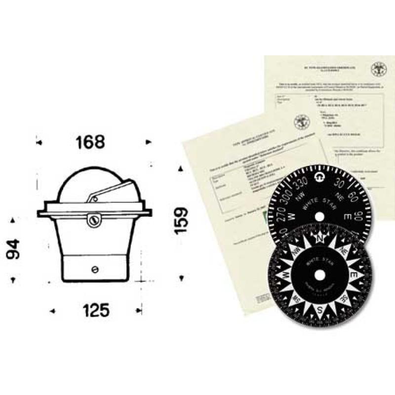 Urania Bu3 2gr Black Rina compass