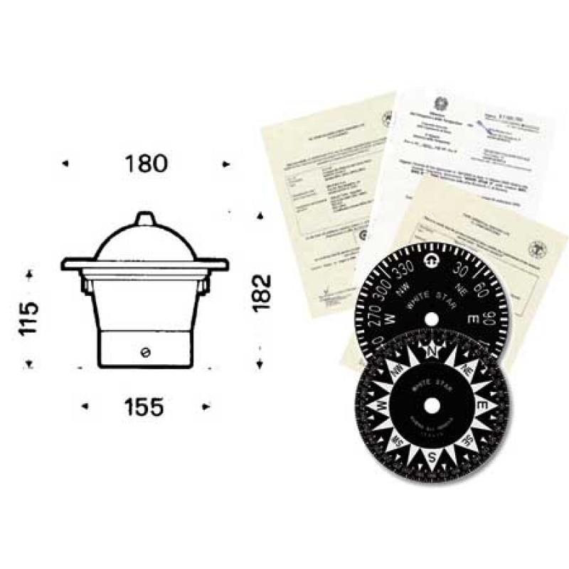 White star riviera bw1 compass High Speed - Black