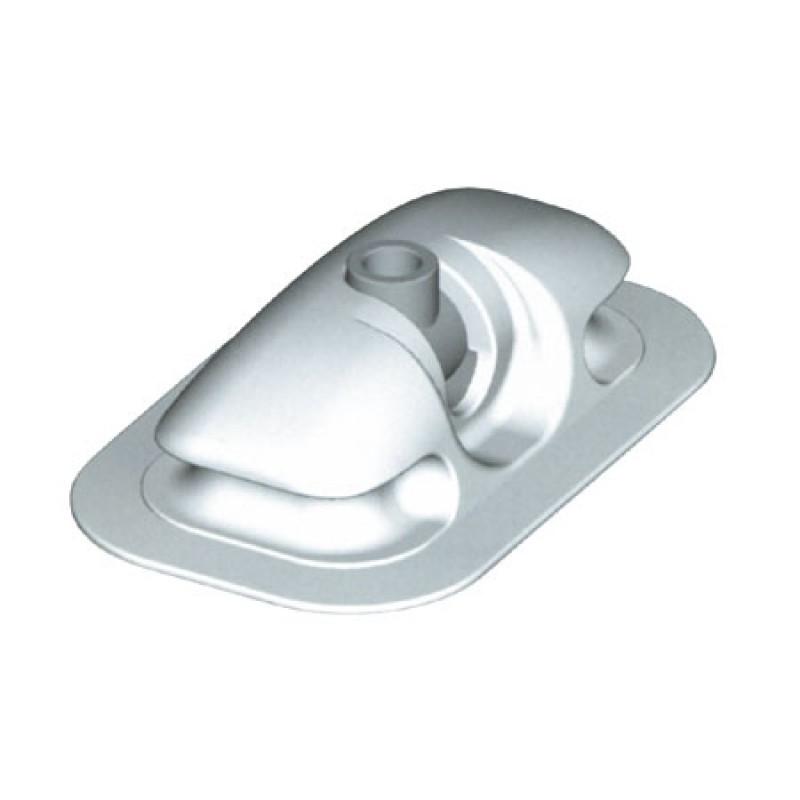 Soporte goma Negro para remos neumáticas D11 mm