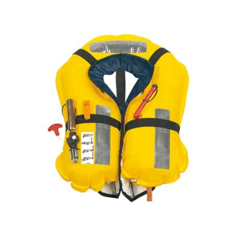 Automatic Skipper Adult inflatable lifejacket Red 150n