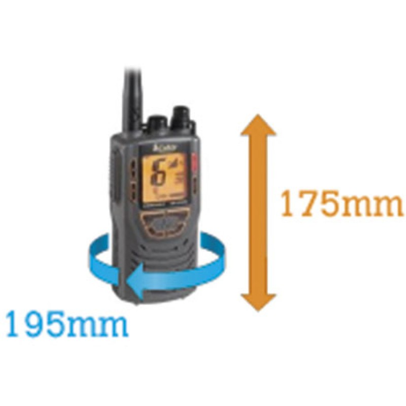 estuche impermeable aquapac vhf 175x195mm