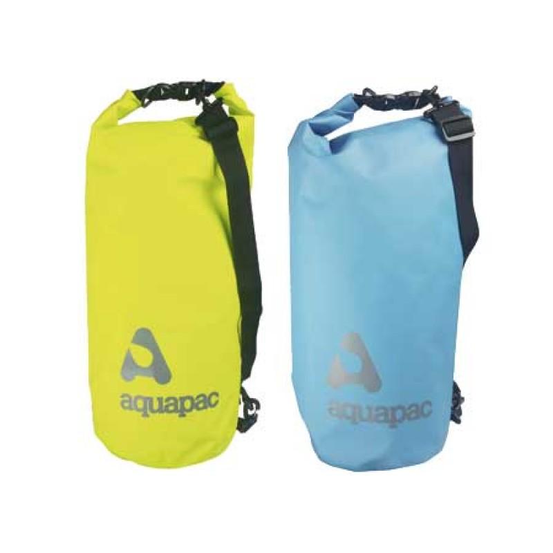 saco impermeable aquapac drybag azul 28 x 16 cm
