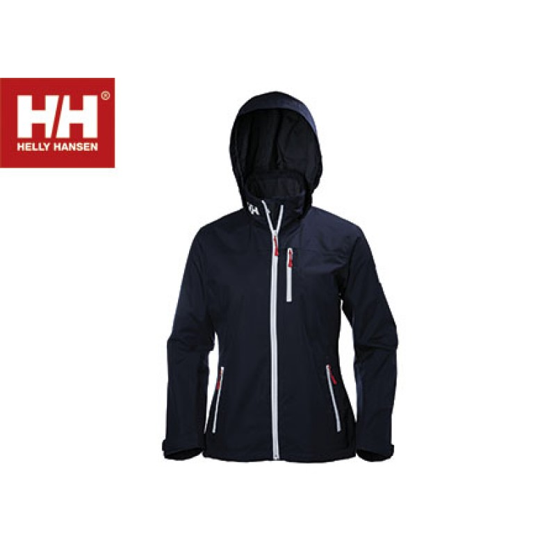 Helly Hansen Crew Midlayer Jacket Woman BLUE-S