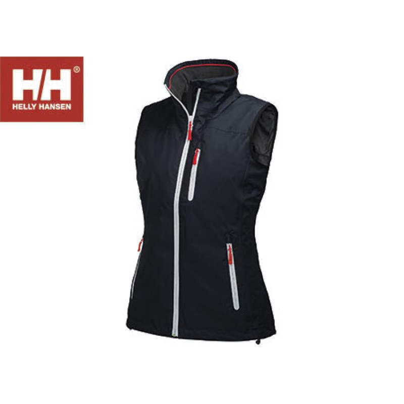Helly Hansen crew midlayer vest woman WHITE-XS