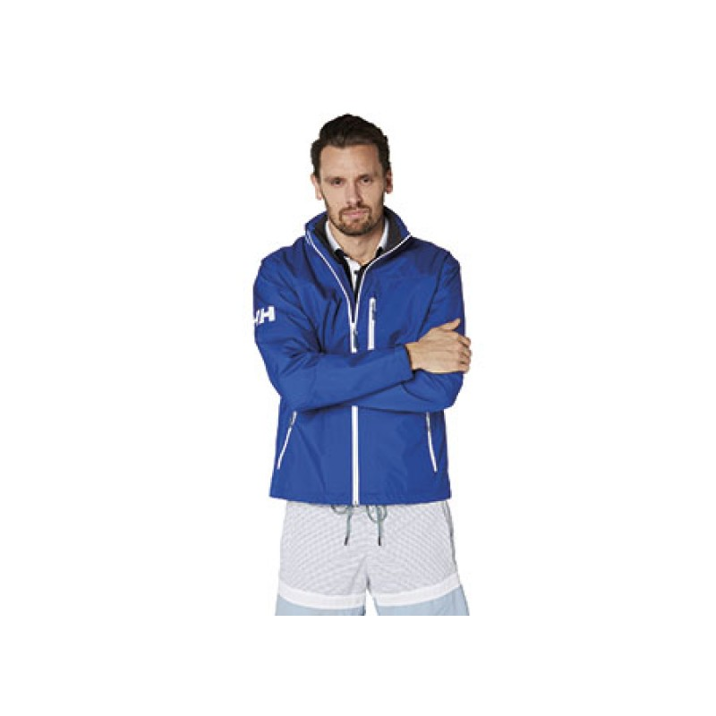 Helly Hansen crew jacket - S - Olympic Blue