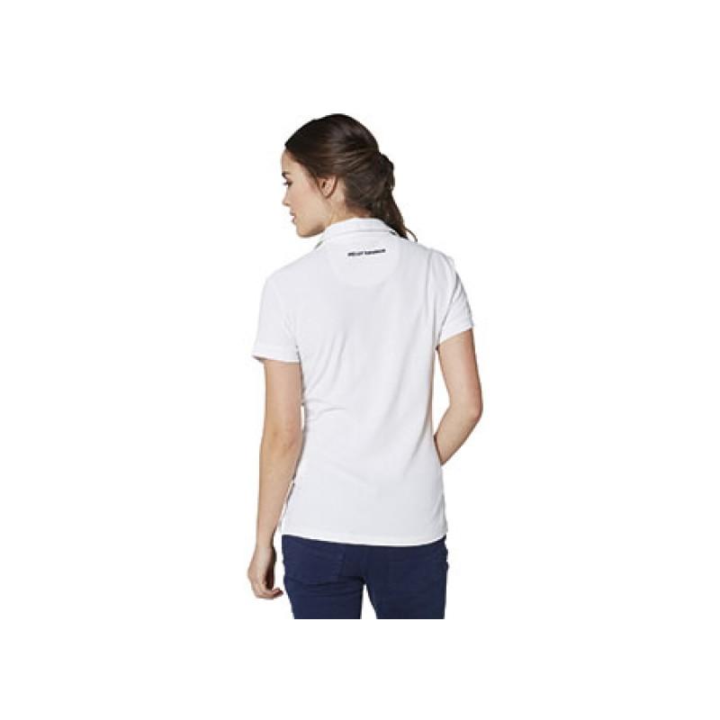 Helly Hansen crewline polo woman WHITE-L