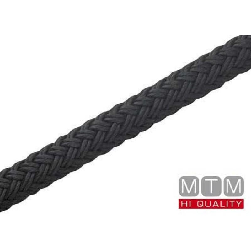 Mooring Line Braided Black 14mm 150mt