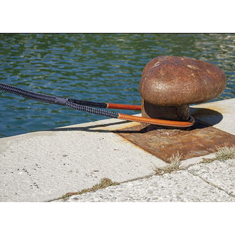 Dock Line Navy D36 L20 Eye100 Brown