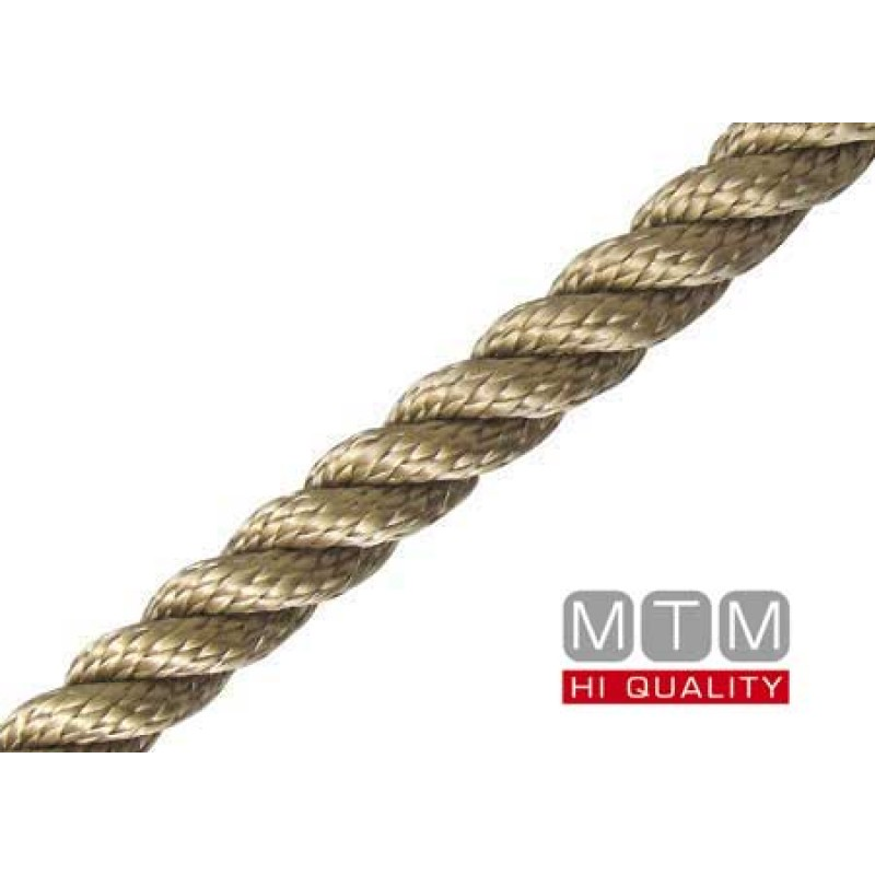 Anchoring & Mooring Superior Rope gold 20 mm 100mt