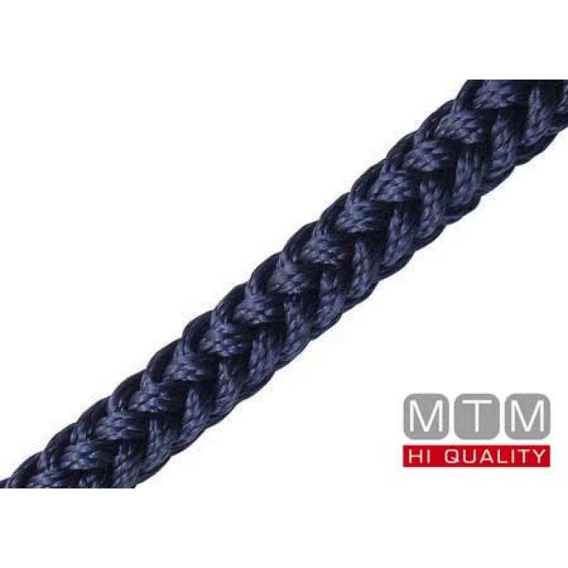 Cuerda trenzada de alta tenacidad Squareline Evolution Blue 18mm x 100 metros