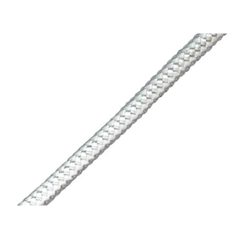 Cordón de polietileno trenzado blanco 6 mm Carga de rotura 500 kg 100mt