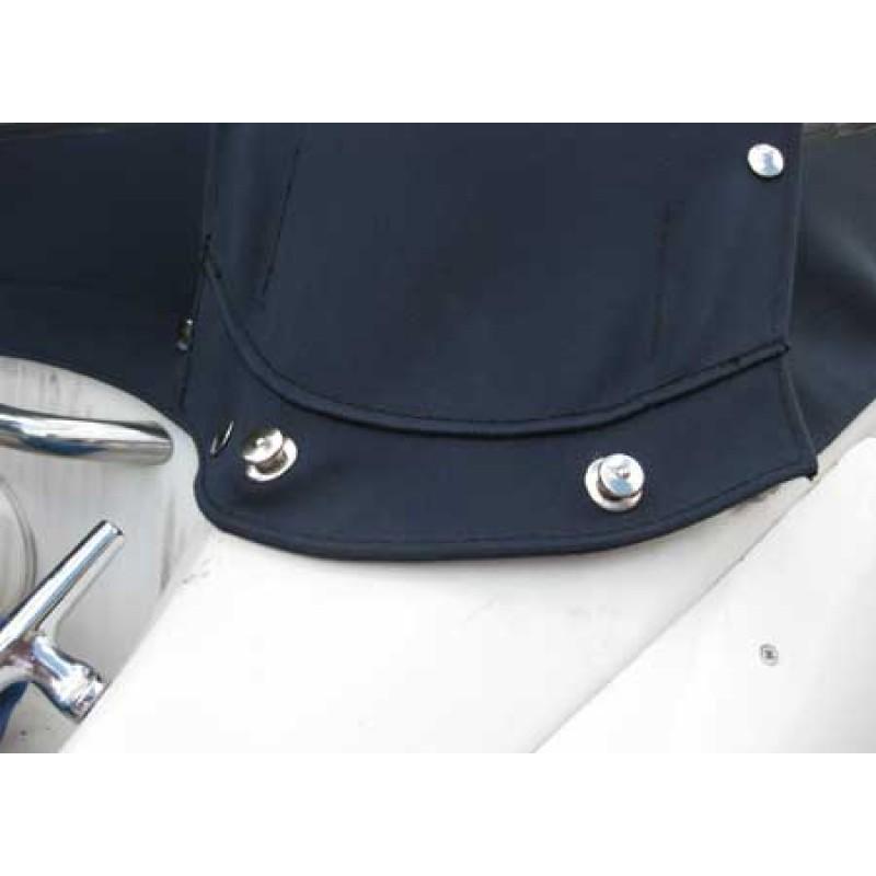 Cabeza botón Loxx/tenax cromo