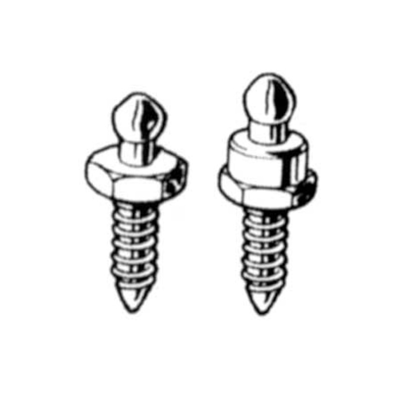 Stainless Steel Loxx-Tenax self-tapping screws 10pcs 16mm High Head