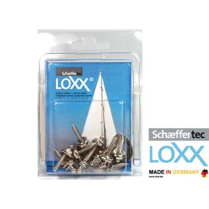 Blister 10 Tornillos Tenax inox 16mm