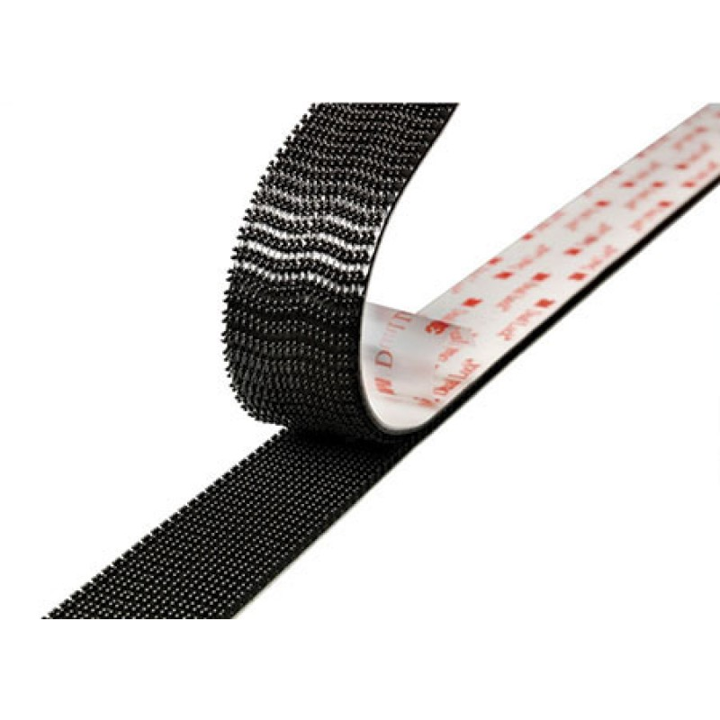 3m scotchmate mini pack velcro resin rubber adhesive tape 25 x 5 mm