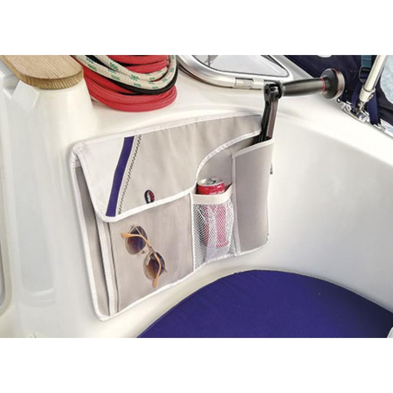 Navishell combi Cockpit Stow Bag 46 x 30cm gris