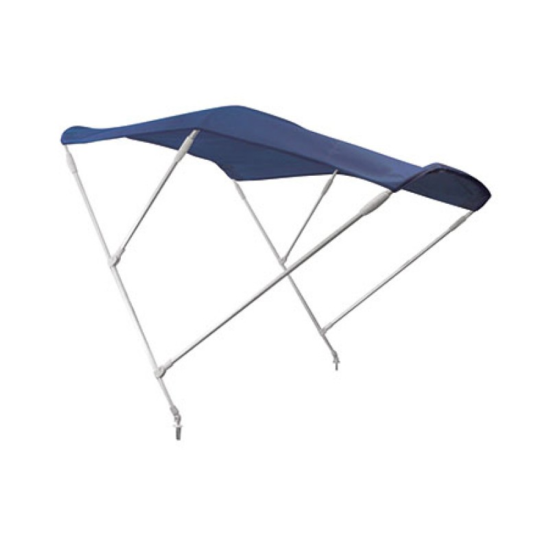 Hood Blue Aluminum F3 with 3 arches 180cm Length x 185cm Sleeve x 140cm Height